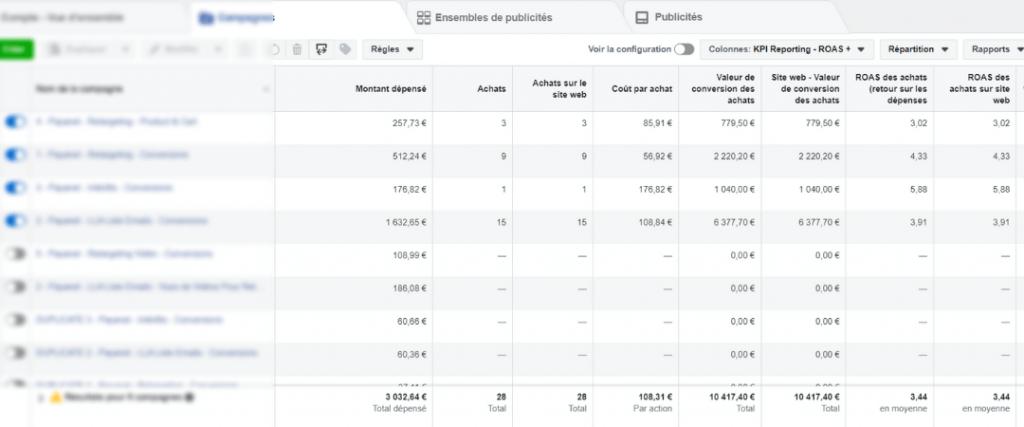 consultant publicité facebook 10 000€